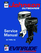 1994 Johnson/Evinrude Outboards 40 thru 55 Service Manual