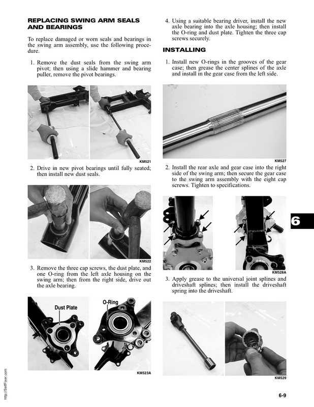 2006 Arctic Cat Dvx Utility 250 Service Manual Image 3 Preview